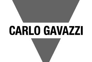 Carlo gavazzi greyscale logo light