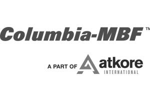 Columbia MBF greyscale logo