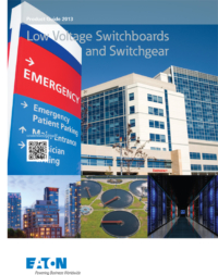 eaton low voltage switchboards catalogue
