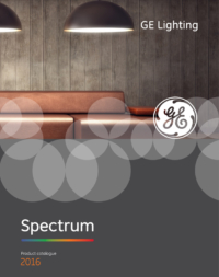 GE spectrum led lighting