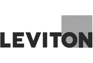 Leviton greyscale logo