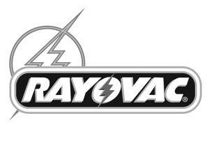 Rayovac greyscale Logo