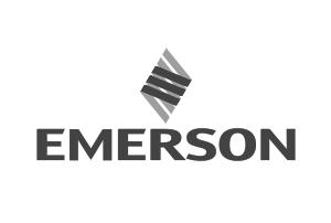 Emerson greyscale logo