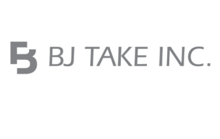 BJ Take greyscale logo