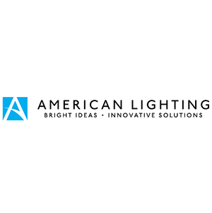 American lighting colour logo