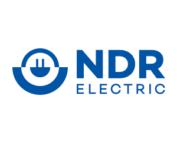 NDR electric colour logo