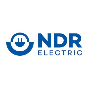 NDR electric colour logo